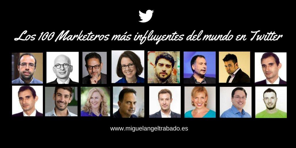 Los 100 Marketeros Mas Influyentes Del Mundo En Twitter